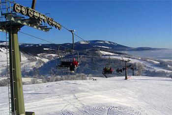 Ski area Kněžický vrch– Vrchlabí